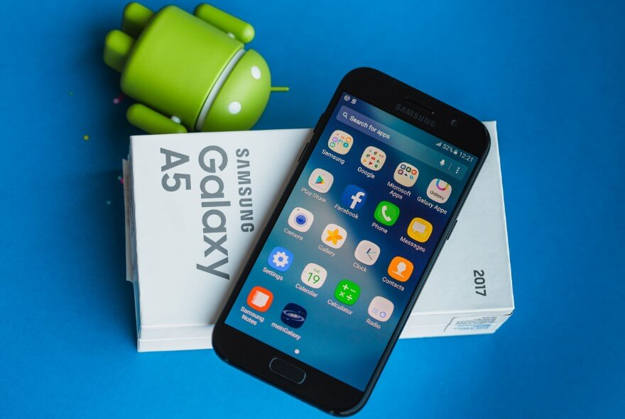 daftar hp samsung galaxy sudah os android nougat terbaru Mei 2020