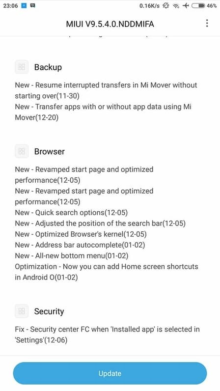 daftar hp xiaomi update miui 9 5 dan kelebihan miui 9 5
