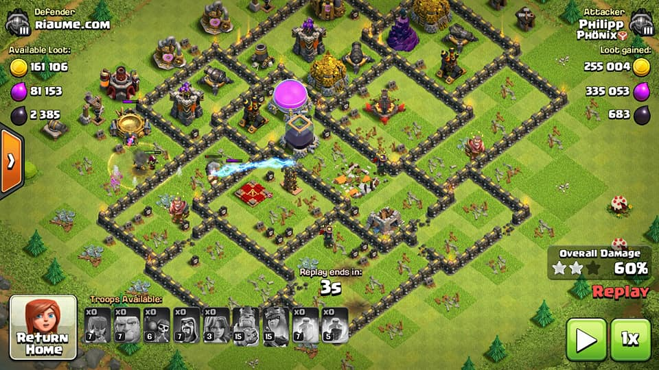 Susunan Base Coc Th 9 Terkuat 2