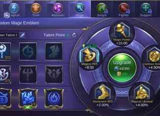 emblem terbaik untuk hero gusion ml terbaru