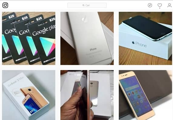 Hati Hati Instagram Online Shop Banyak Penipuan Terbaru Juli 2020
