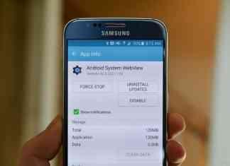 kegunaan aplikasi android system webview terbaru