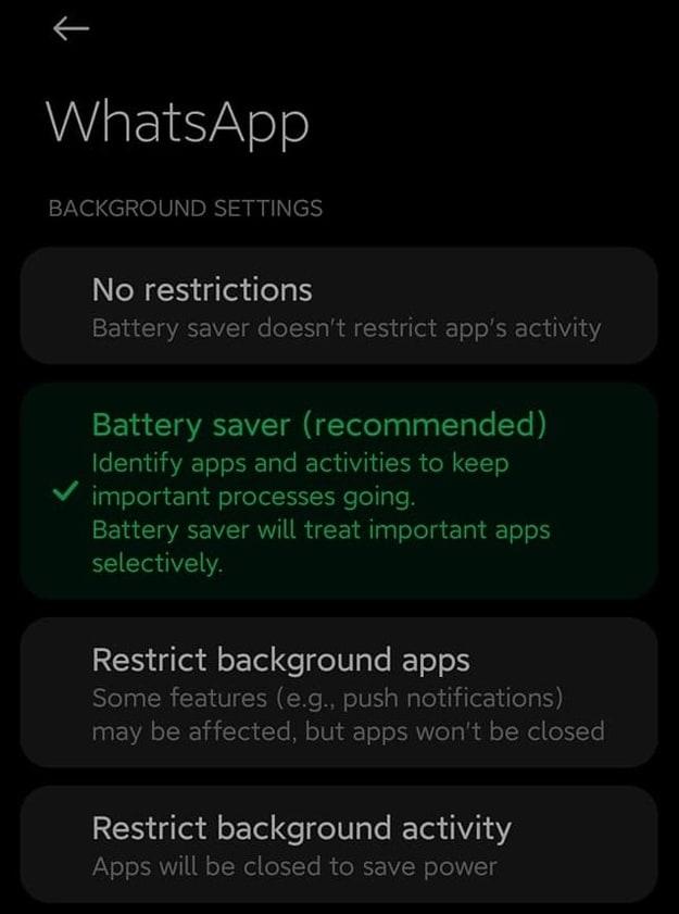 mengatasi whatsapp dibuka baru muncul pesan masuk di android 10