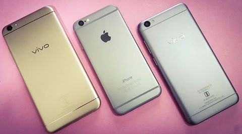 oppo vivo vs iphone