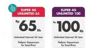 paket internet unlimited smartfren 4g murah