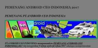 pt android ceo indonesia asli resmi terbaru
