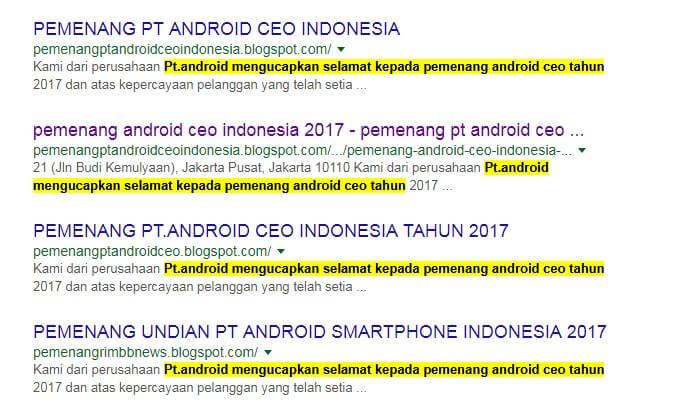 pt android ceo indonesia asli resmi