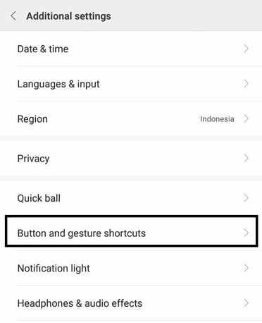 settings cara cepat screenshot hp xiaomi miui 9 terbaru
