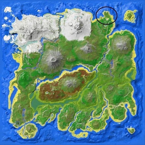 spawn lokasi ark survival mobile terbaik untuk leveling